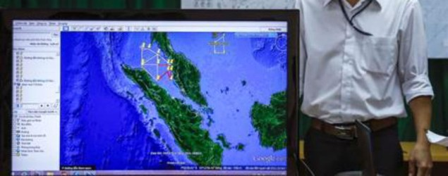 MH370: Last seen above Malacca