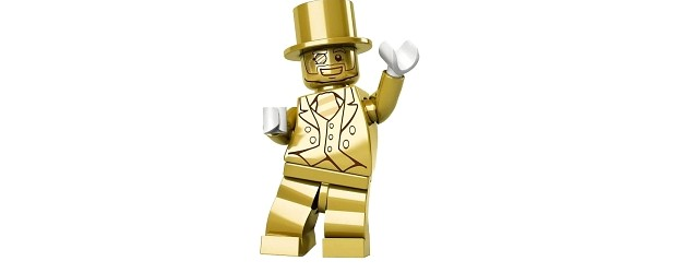 A gold mini-figure is fetching insane prices from collectors, and some Lego fans aren't happy about it.