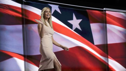 Trump, by Trump: Ivanka Trump's dress in the spotlight