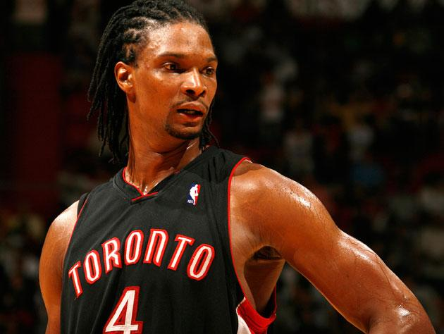 Chris Bosh admits that his last year in Toronto, prior to ...