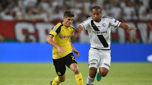 Christian Pulisic shines in first Champions League start for Borussia Dortmund