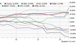 5 Top and Flop ETFs of August
