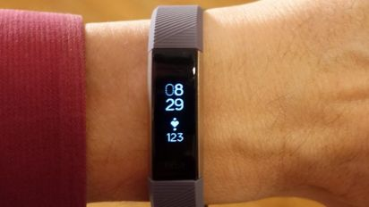 Fitbit Alta HR is the least dorky fitness band