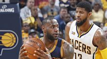 Cavs sweep Pacers, Rockets poised to advance