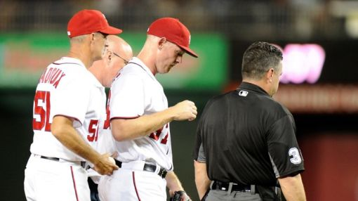 Stephen Strasburg unlikely to be ready in time for NLDS