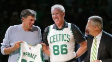 Danny Ainge says denying Ray Allen a spot in a 2008 Celtics title celebration 'seems silly'