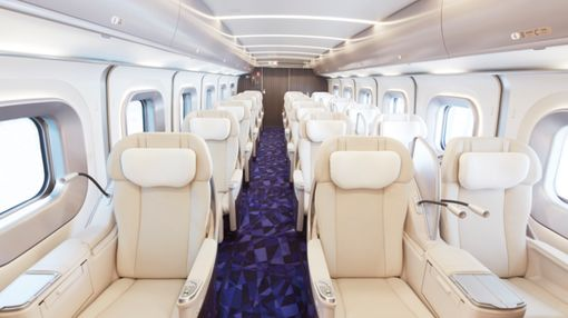 Sake, Lounge on Offer as Japan Bullet Train Luxury Takes on Jets