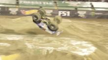 Watch: Dude pulls off first-ever front flip in Monster Jam event