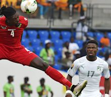 Reigning champions held to opening draw by Adebayor and co.