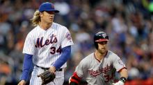 Bryce Harper and Noah Syndergaard are building an old-school feud