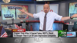 Cramer: Risks for Facebook, Amazon or Microsoft in an ove...