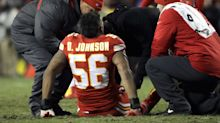 Chiefs lose emotional leader Derrick Johnson to another season-ending Achilles injury