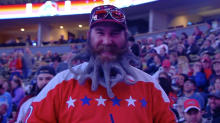 Capitals beard guy unleashes awesomely disgusting new design