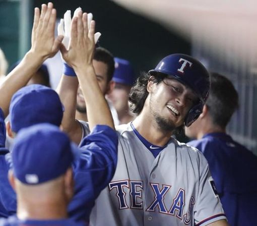 Yu Darvish stuns Reds with history-making home run