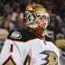 Jonathan Bernier exits Ducks game at Sharks with upper-body injury