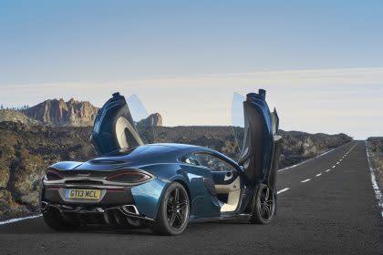 McLaren sports car sales double in 2016