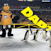 Live penguins marched onto the ice before the NHL Stadium Series game