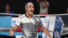 Shock results good for tennis, says Federer at Australian Open