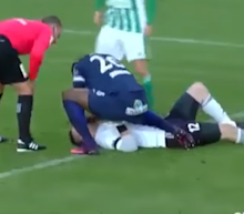 Soccer player Francis Kone saved the life of his competitor on the field