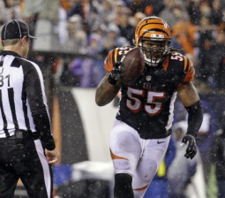 Bengals' Vontaze Burfict has no f-bombs to give for Steelers