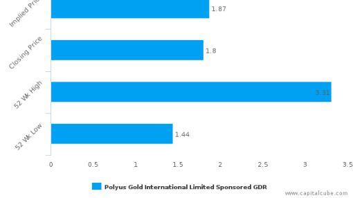 Polyus Gold International Ltd. : Fairly valued, but may deserve another look