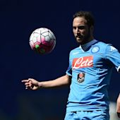 Juventus confirm €90m deal to sign prolific striker Gonzalo Higuain from Serie A rivals Napoli