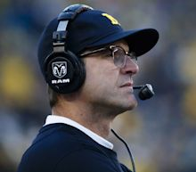 Jim Harbaugh's teams keep doing the most ruthless stuff late in blowout wins