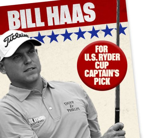 Ryder Cup 2016: The Case for Bill Haas as a U.S. Captain's Pick