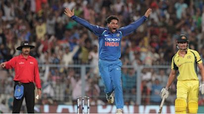 'That's the way to do it!': Twitter on Kuldeep hat-trick