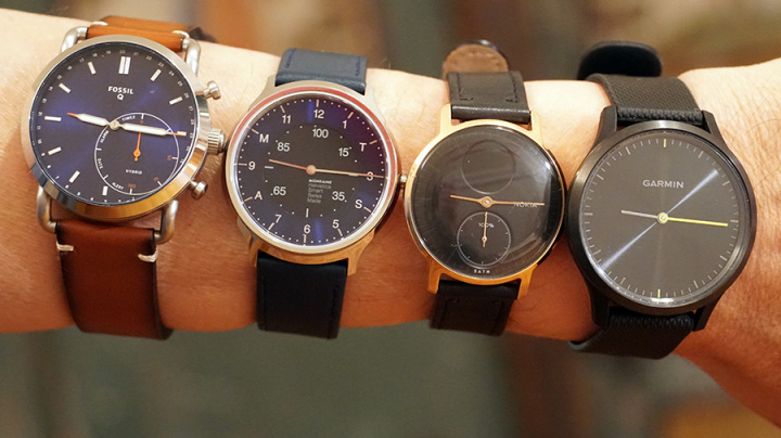 These gorgeous analog watches have a secret
