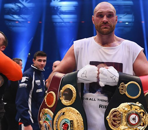 Boxing: Tyson Fury 'tested positive for cocaine and will be stripped of his belts'