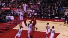 Jakob Poeltl Threw Down The Hammer With This Poster Dunk On Tim Hardaway Jr.