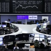 Oil shares lift global stocks, crude dips on doubt over OPEC deal