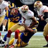 Star QB Colin Kaepernick sacked by US anthem controversy, will 'continue to sit'
