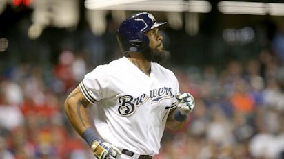 Brewers' Thames keeps crushing Cincy pitching