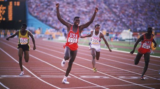 Carl Lewis' Long Olympic Run Paved With Gold