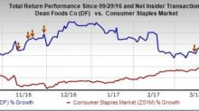 Can Dean Foods' (DF) Growth Plans Help It Sustain Momentum?