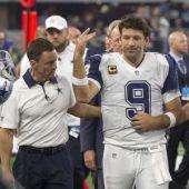 Cowboys quarterback Romo has broken bone in back