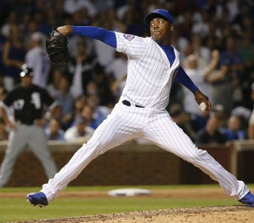 Cubs fan will donate to domestic-violence charity for each Aroldis Chapman save