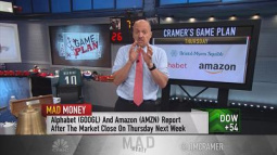 Cramer's earnings approach: Buy at the end of the week, n...
