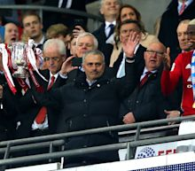 Was Jose Mourinho channelling Alex Ferguson's famous reaction after Manchester United EFL Cup win?