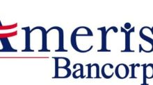 Ameris Bancorp Announces 20% Increase In Operating Results For First Quarter 2017
