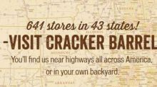 Cracker Barrel Stock Upgraded: What You Need to Know