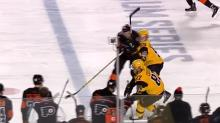 Brandon Manning of Flyers gets hearing for Stadium Series hit (Video)