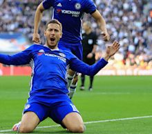 Hazard second only to Barca star Messi, says Chelsea team-mate Fabregas
