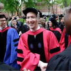 Zuckerberg to Harvard grads: 'You have to create a sense of purpose for others'