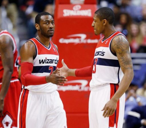 John Wall and Bradley Beal are trying to learn to like each other