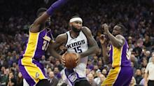 Did the Lakers fire Jim Buss and Mitch Kupchak because they failed to trade for DeMarcus Cousins?