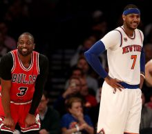Dwyane Wade doesn't think (the reportedly unhappy) Carmelo Anthony will ever ask for a trade