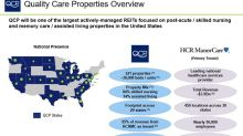 HCP Spins Off Quality Care Properties